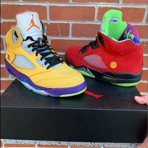 Jordan retro 5 what the